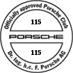 Officially approved Porsche Club 115